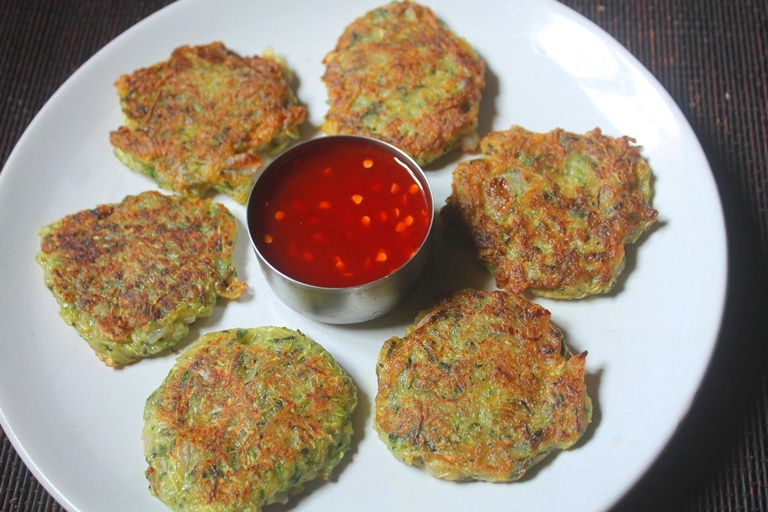 Easy Zucchini Fritters Recipe – Healthy Snacks Recipes