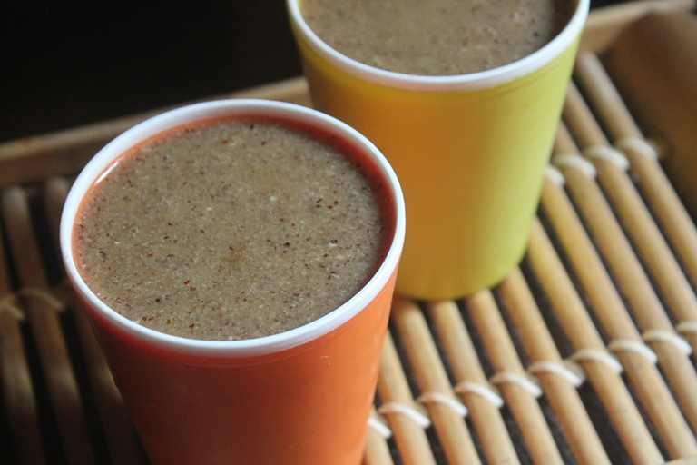 Ragi Rava Milk Recipe – Healthy Breakfast Malt Recipe