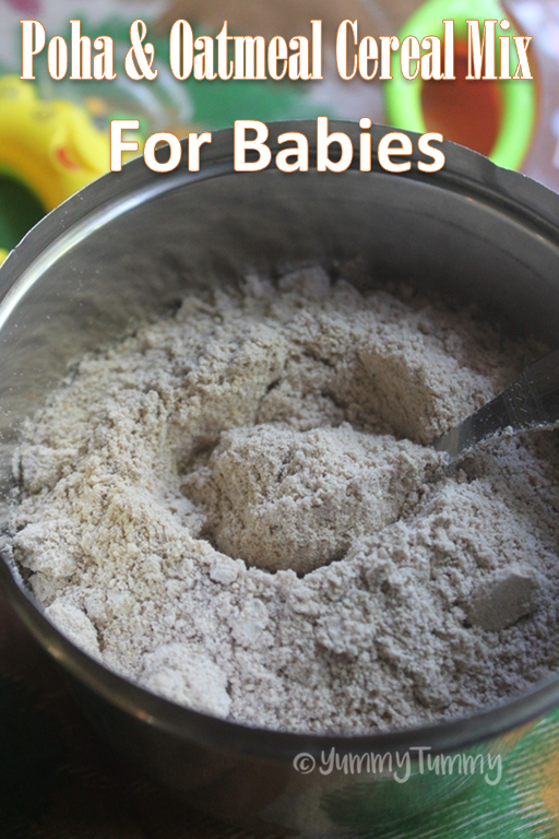 how to cook oatmeal for baby