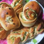 Scallion Rolls Recipe – Spring Onion Buns Recipe