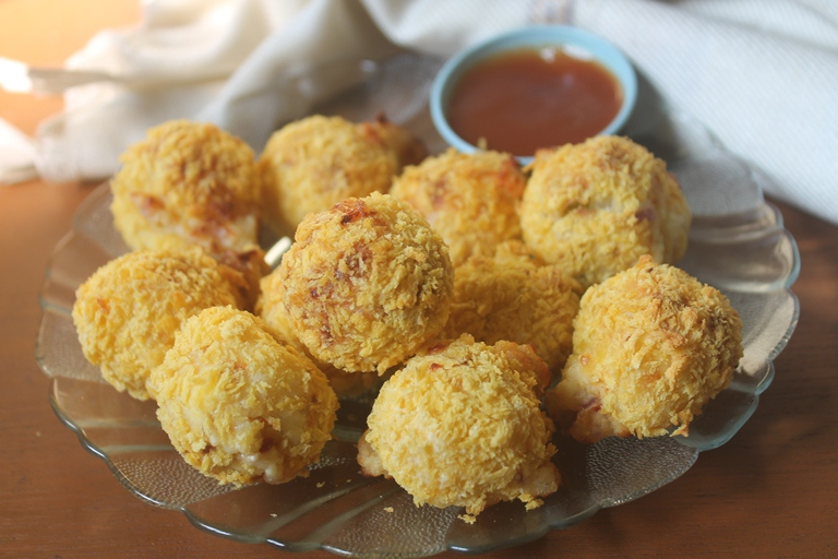Crispy Paneer Cheese Balls in a Air Fryer