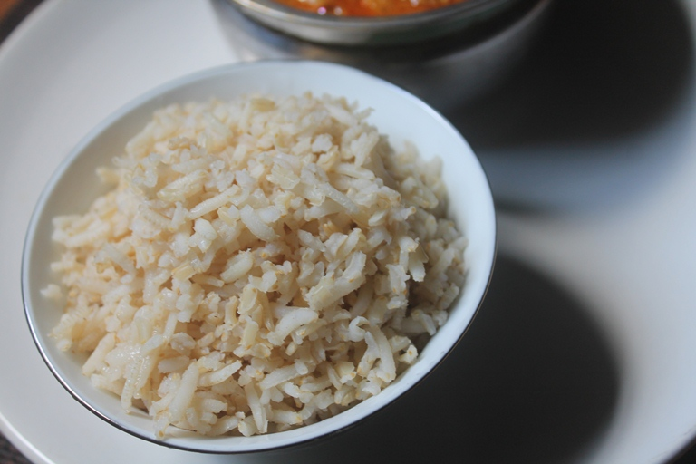 how to make rice absorption method