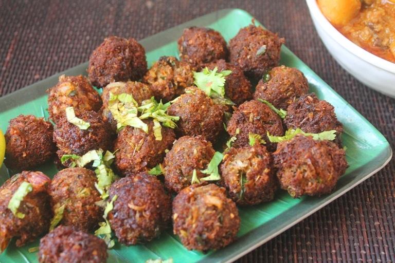 Mutton Kola Urundai Recipe – Chettinad Mutton Keema Balls Recipe