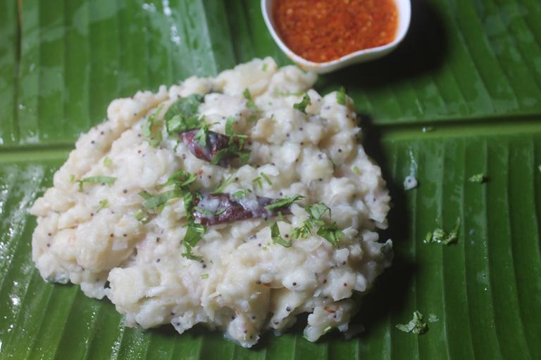 Mashed Tapioca Recipe – Maravalli Kilangu Masiyal Recipe