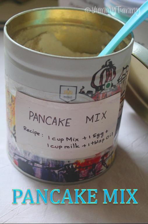 Instant Pancake Mix Recipe Instant Pancakes Under 5 Mins