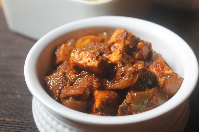 Chettinad Kadai Paneer Recipe – Easy Paneer Recipes