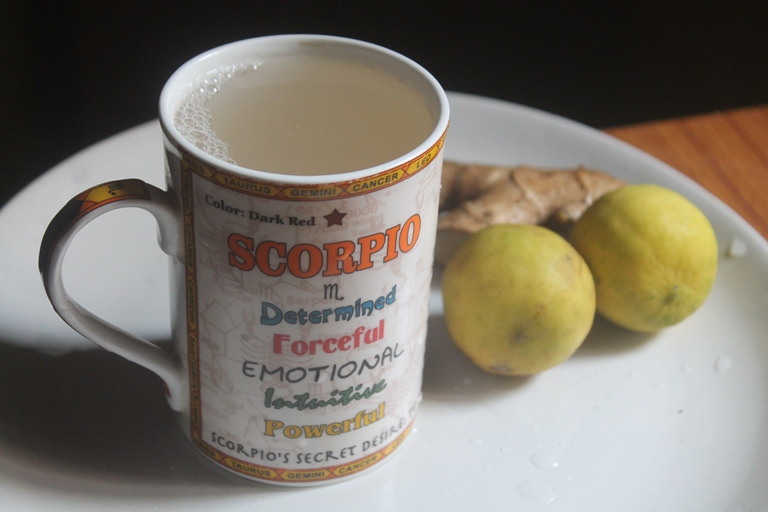 Liver Detox Tea Recipe – Lemon Ginger Magical Drink