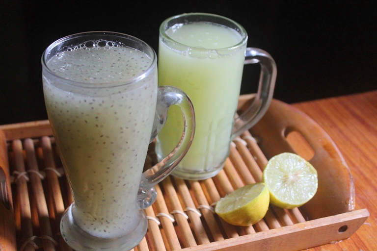 Cucumber Chia Fresca Recipe – Cucumber Chia Drink Recipe