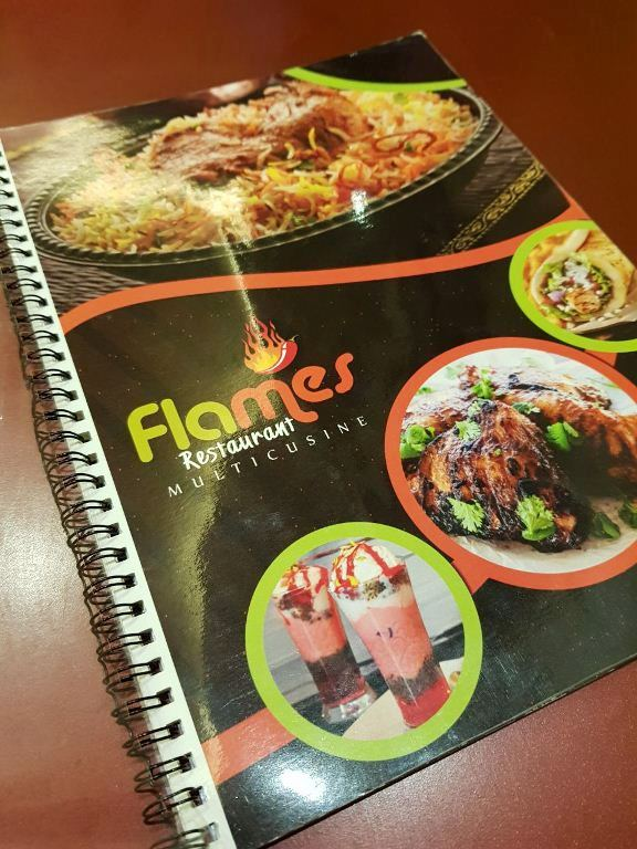 Flames Restaurant, Nagercoil – A REVIEW