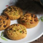 Eggless Pistachio Cookies Recipe – Pista Biscuits Recipe