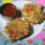 Rainbow Fritters Recipe – Summer Vacation with Kids