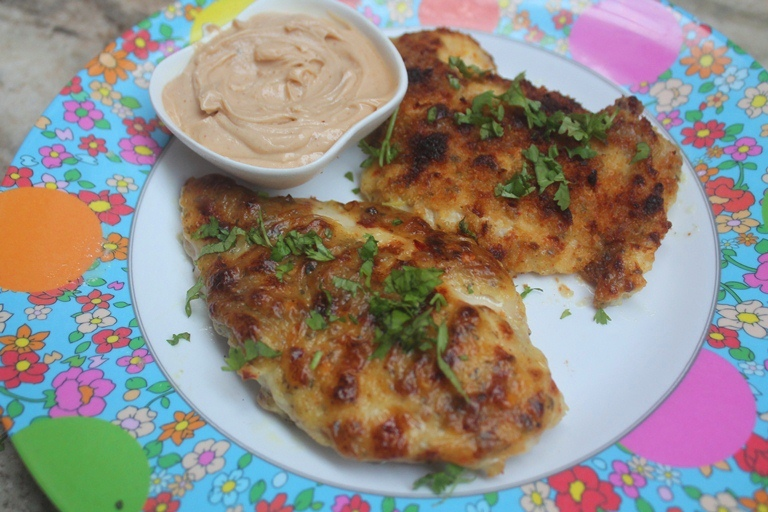 Roasted Mayonnaise Chicken Recipe – Mayo Crusted Chicken Recipe