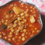 White Peas Potato Curry Recipe – Vatana Aloo Masala Recipe