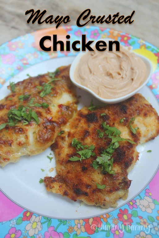 how to cook chicken with mayonnaise