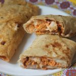 Cheesy Chicken Wrap Recipe – Recipes using Leftover Chicken