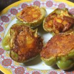 Spicy Capsicum with Potato Filling