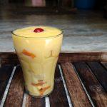 Mango Banana Custard Pudding Recipe