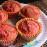 Rose Milk Muffins Recipe – Pink Muffins Recipe