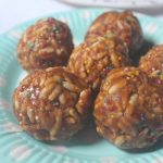 Peanut Butter Puffed Rice Balls Recipe