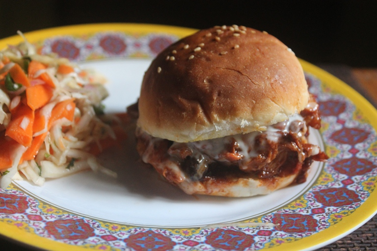 Barbeque Pulled Chicken Sandwich Recipe