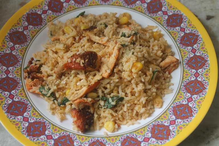 Quick Stir Fry Rice- Lunch Box Recipe for Kids