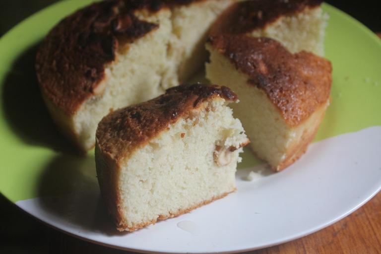 Plain Vanilla Tea Cake Recipe
