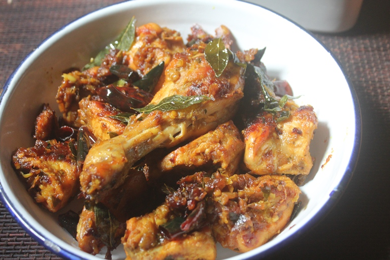 Pallipalayam Chicken Roast Recipe