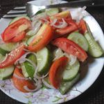 Cucumber & Tomato Salad Recipe