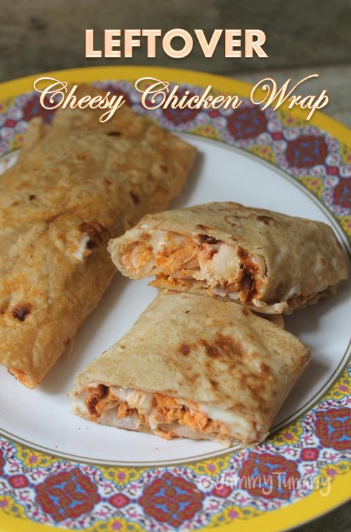 Cheesy Chicken Wrap Recipe Recipes Using Leftover Chicken