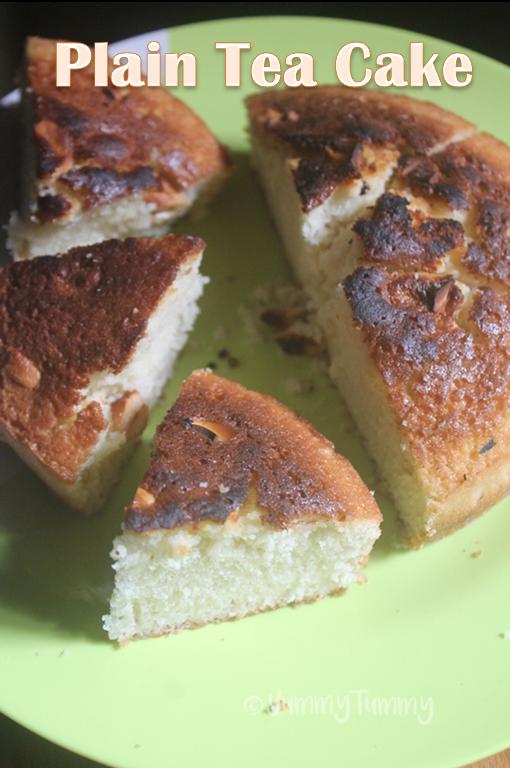 Plain Vanilla Tea Cake Recipe Vanilla Tea Cake Yummy Tummy