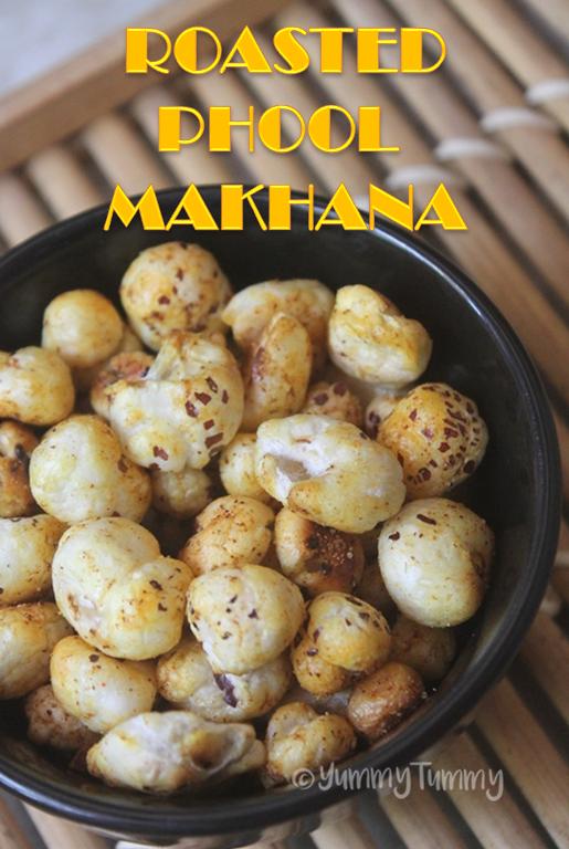 how to cook phool makhana