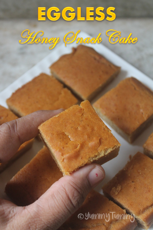 Indian Eggless Banana Cake Recipe