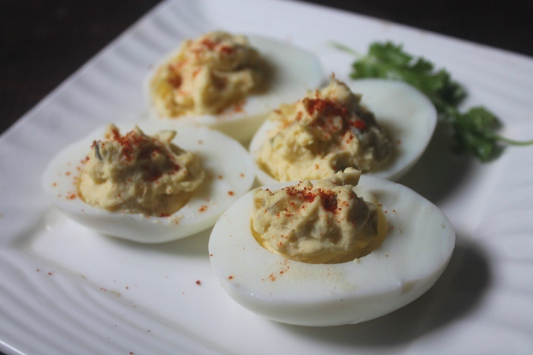 3 Ingredient Deviled Eggs Recipe