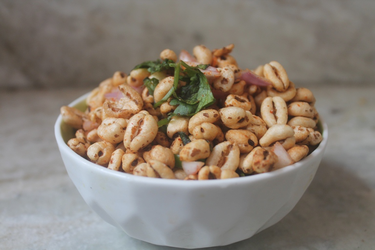 Puffed Wheat Chaat Recipe – Godhumai Pori Recipe