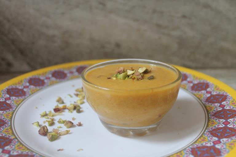Mango Phirni Recipe – Mango Rice Pudding Recipe