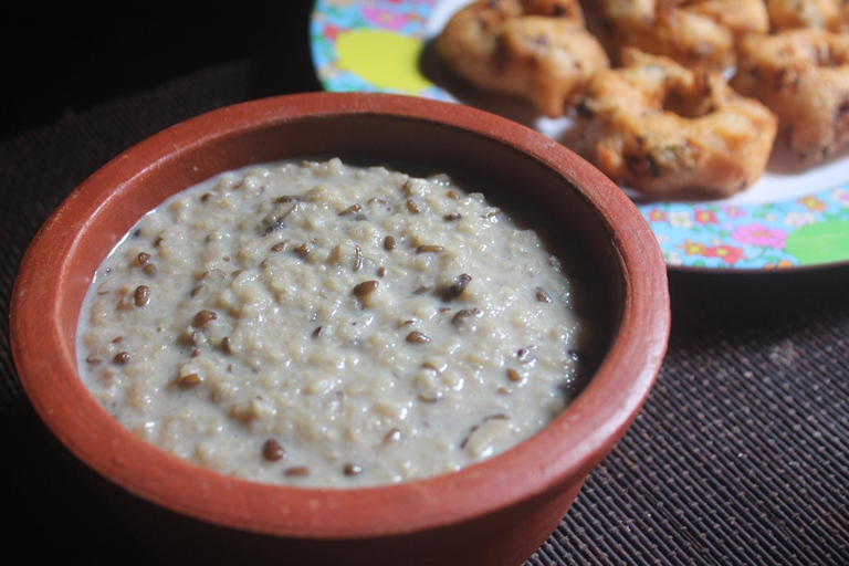 Urad Dal Porrige (Sweet Version) – Uludu Kanji Recipe