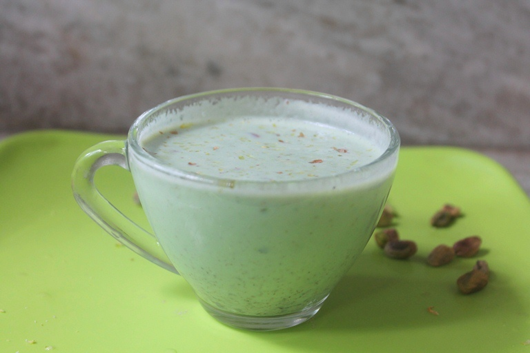Pistachio Milk Recipe – Pista Doodh Recipe