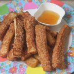 French Toast Fries Recipe – Cinnamon Sugar French Toast Sticks Recipe