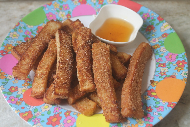 French Toast Fries Recipe – Cinnamon Sugar French Toast Sticks Recipe