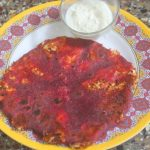 Beetroot Paneer Paratha Recipe