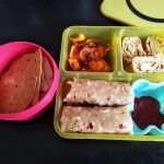 Cabbage Chapati, Carrot Chips & Egg – Kids Lunch Box Ideas  16