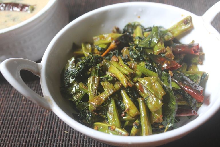 Beans & Fenugreek Leaves Poriyal Recipe
