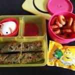 Spinach & Carrot Chapati Recipe – Kids Lunch Box Ideas 20