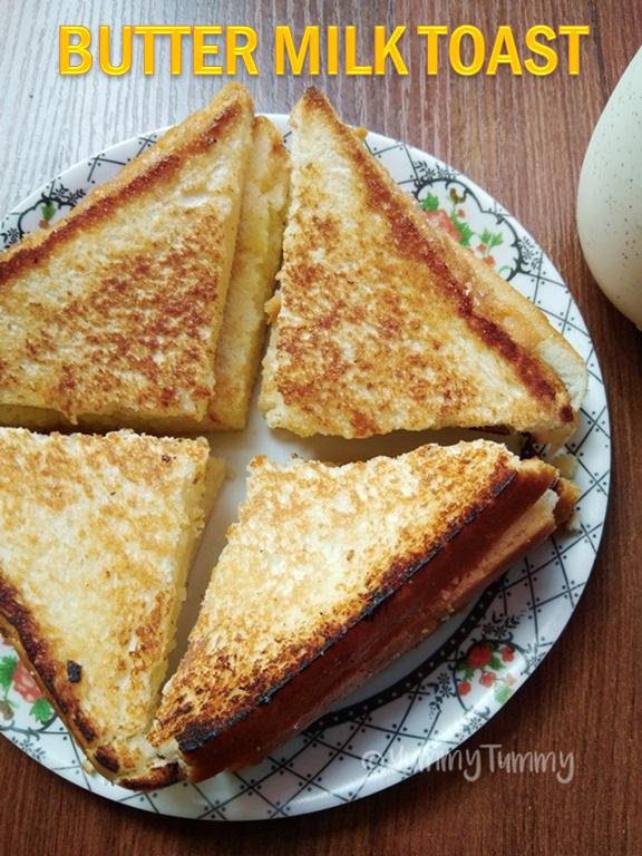 Butter Milk Toast Recipe Kids Breakfast Ideas Easy Bread Recipes