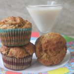 Apple & Ginger Whole Wheat Muffins Recipe