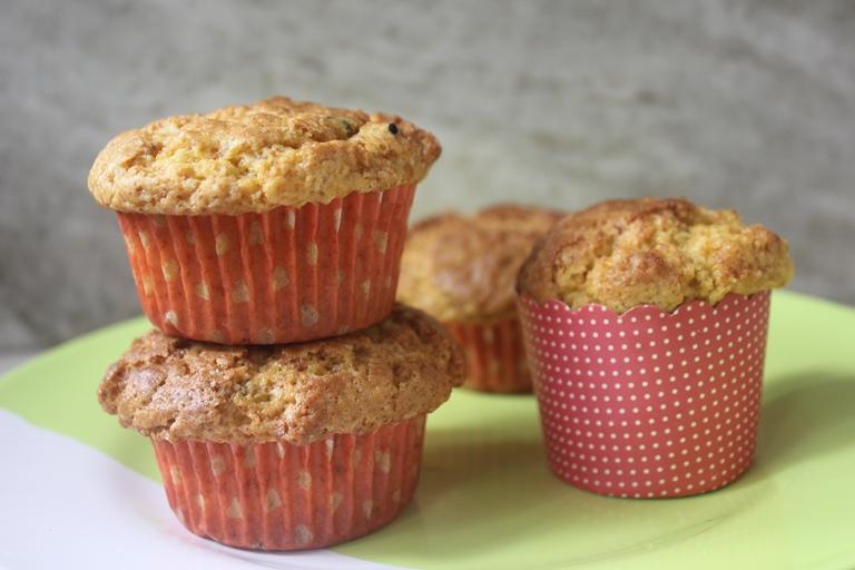 Mango Tutti Fruity Muffins Recipe