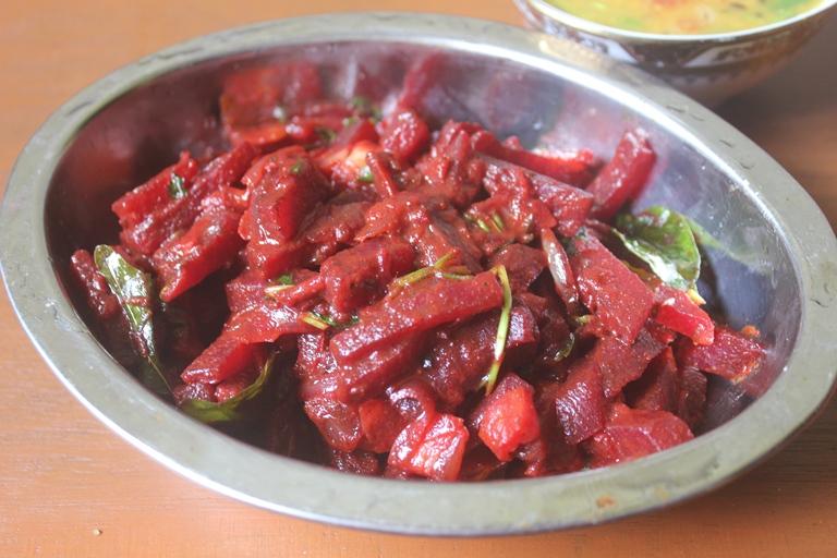 Beetroot Sabzi Recipe – Beetroot Curry Recipe