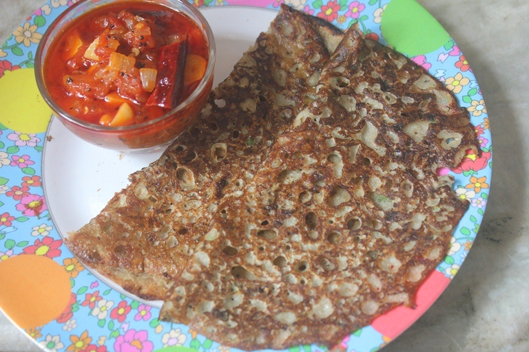 Kambu Rava Dosa Recipe – Bajra Sooji Dosa Recipe