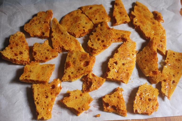 Hokey Pokey Candy Recipe – Crunchy Honeycomb Recipe