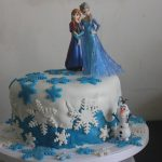 Frozen Themed – Fondant Birthday Cake Recipe